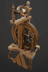 american made spinning wheels traditional