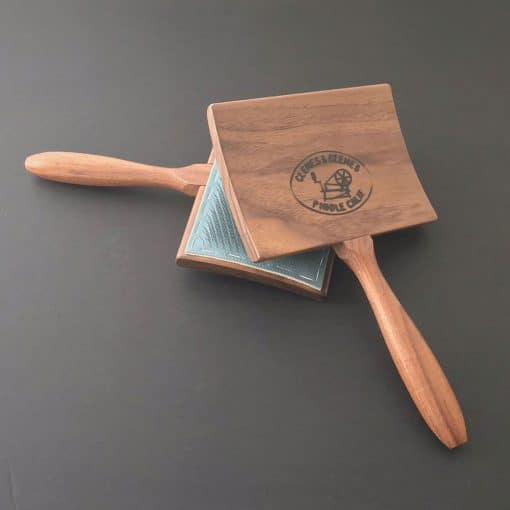 Walnut Student Curved Back Cotton Cards
